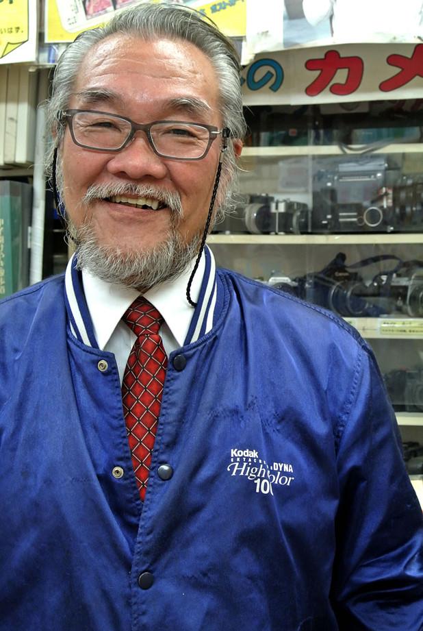 鳴尾カメラ 甲子園店 大切 俊幸さん