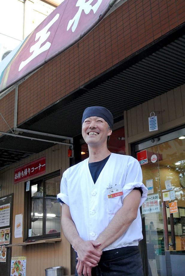 餃子の王将鳴尾店 店長 島田正和さん
