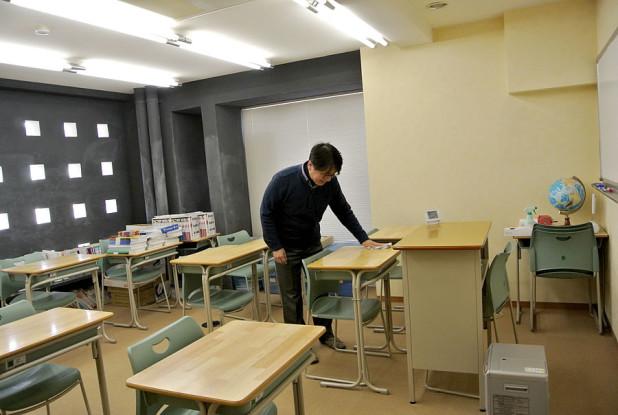 英数研セミナー 室内